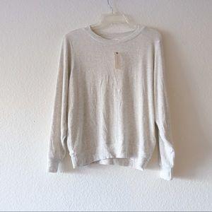 New Anthropologie Velvet Sweater Size Small